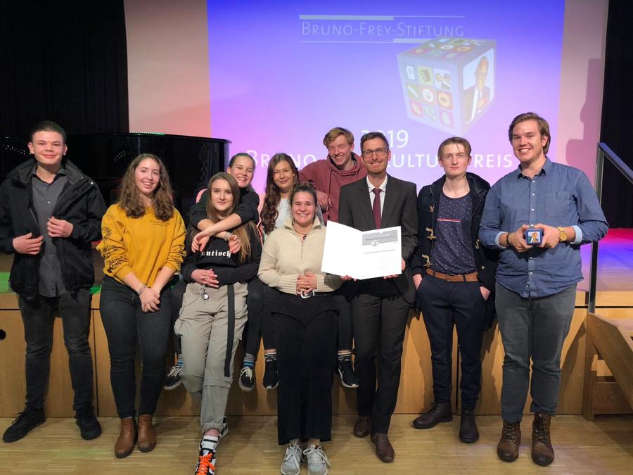Die glücklichen Preisträger. (Bild zur Verfügung gestellt von Heiko Neumann)