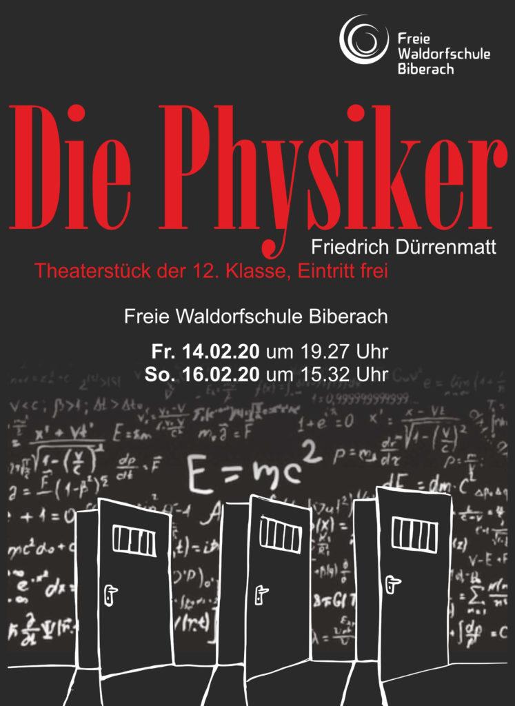 Die Physiker - Theaterstück Klasse 12 Waldorfschule Biberach 2020